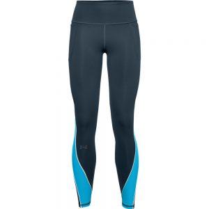 WOMENS UA RUSH COLDGEAR LEGGINGS - BLUE