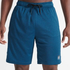 TRAINING RELAXED SHORTS - BLUE