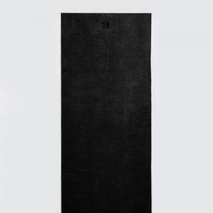 PREMIUM GRIP YOGA MAT TOWEL - BLACK