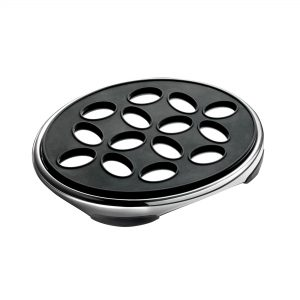 SIGNATURE OVAL TRIVET BLACK