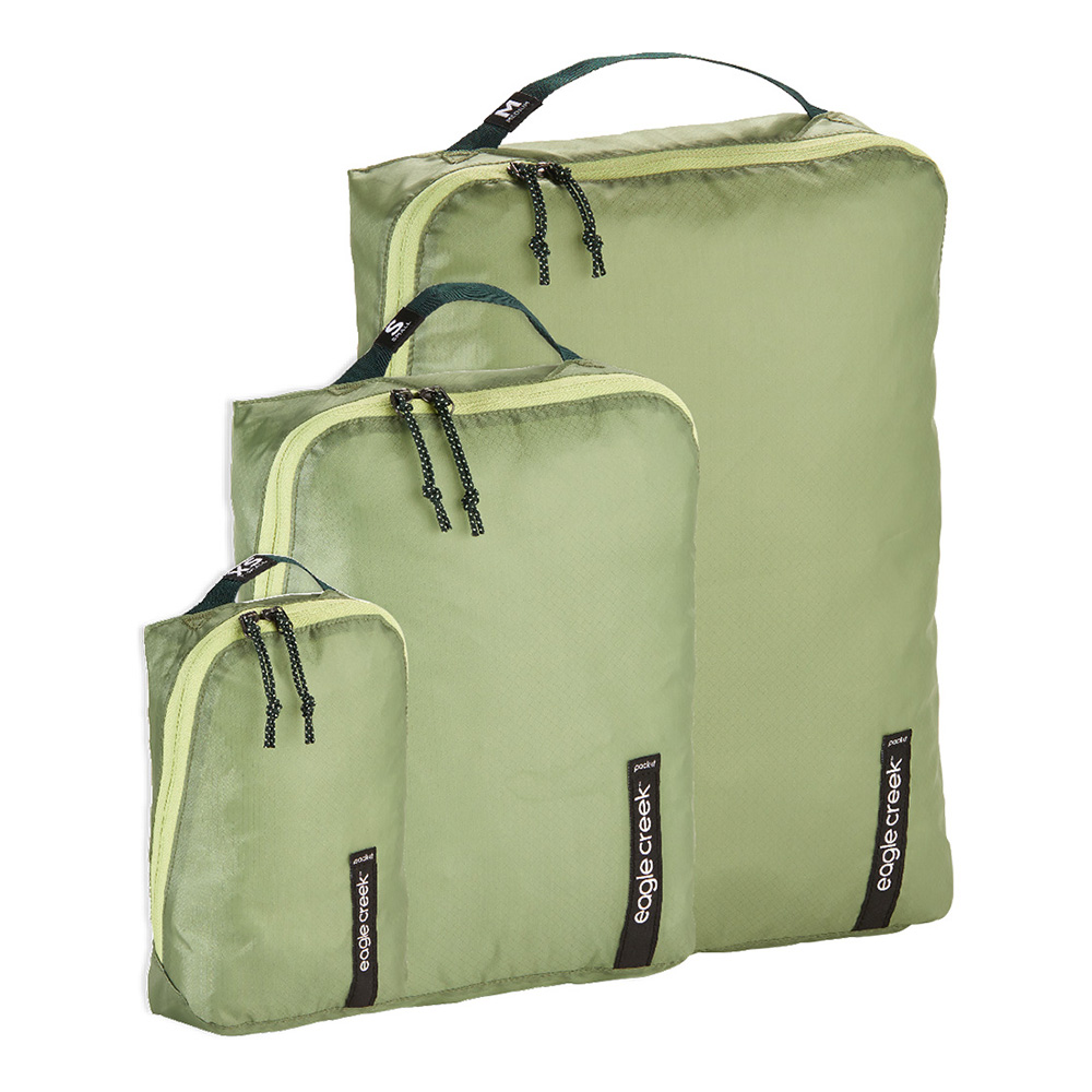 PACK IT ISOLATE CUBE SET XS/S/M - MOSSY GREEN