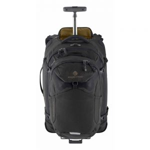 GEAR WARRIOR CONVERTIBLE CARRY ON - JET BLACK