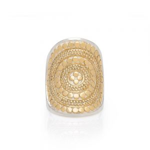 SADDLE RING - GOLD