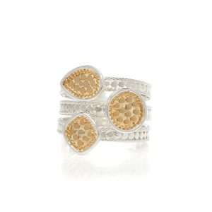 CLASSIC FAUX STACKING RING - MULTI