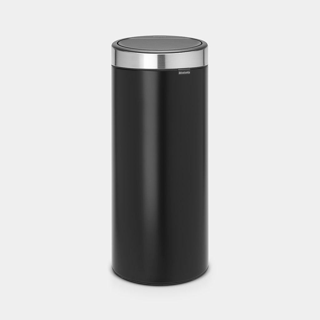 TOUCH BIN 30 LITRE - MATT BLACK