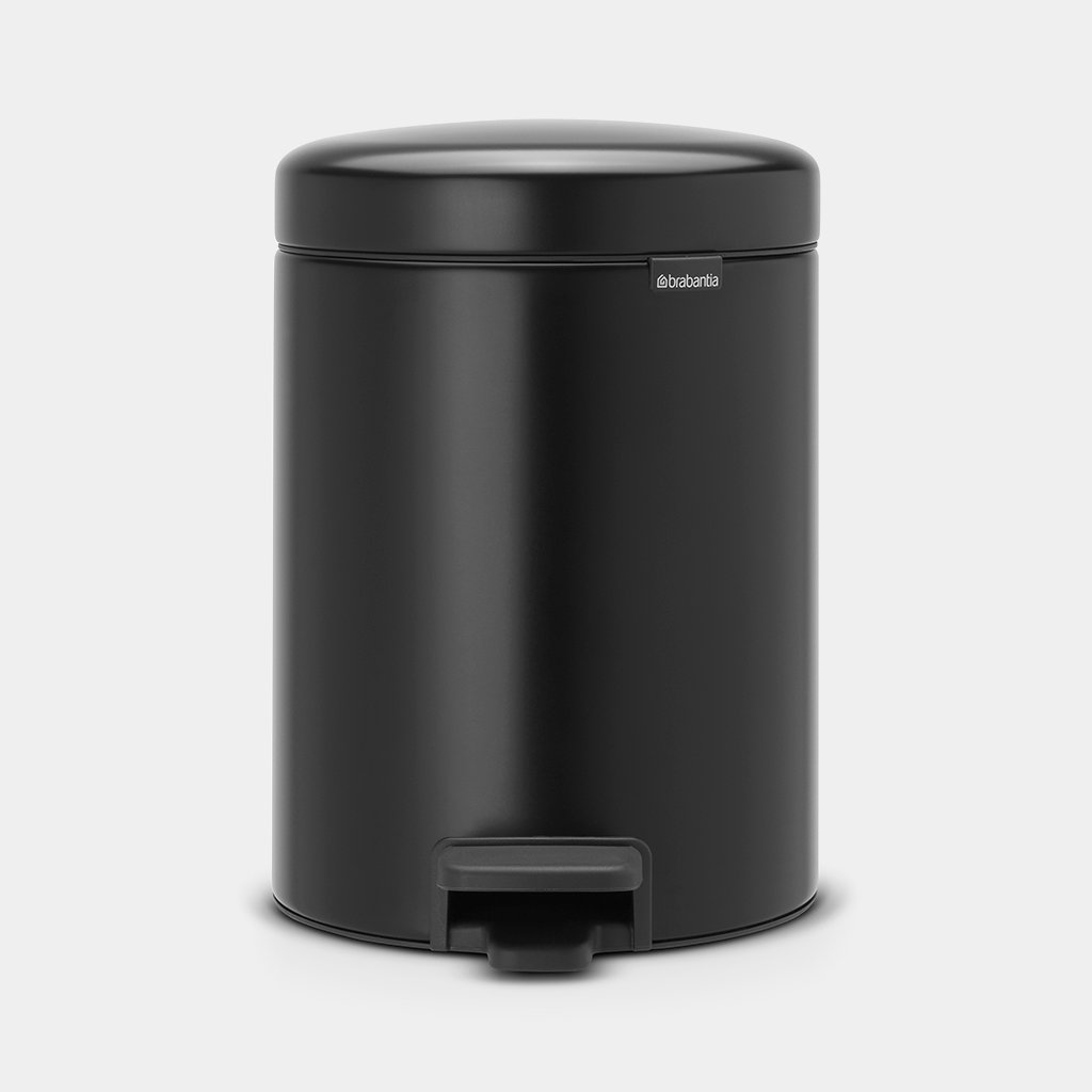 PEDAL BIN 2X 2 LITRE - MATT BLACK