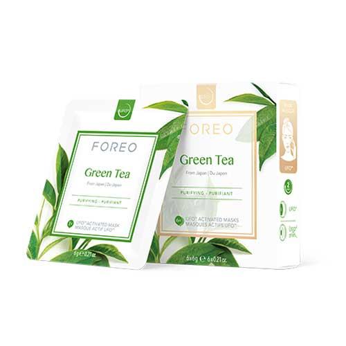 GREEN TEA UFO MASK X6
