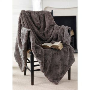 Marilyn Mink Faux Fur Throw