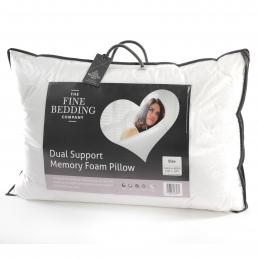Memory Foam Dual Support Pillow