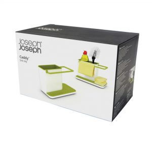 CADDY SINK ORGANISER LARGE WHITE/GREEN