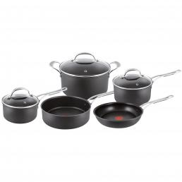 Jamie Oliver by Tefal Hard Anodised Pro Series 5 Piece Set