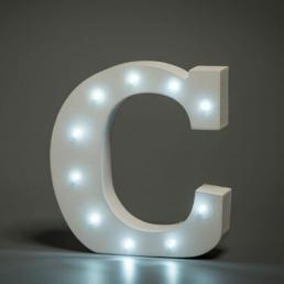 LED LETTER C