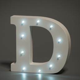 LED LETTER D