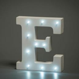 LED LETTER E