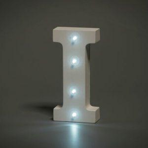 LED LETTER I