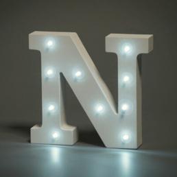 LED LETTER N