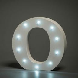 LED LETTER O