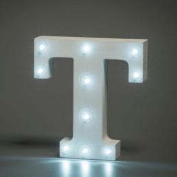 LED LETTER T