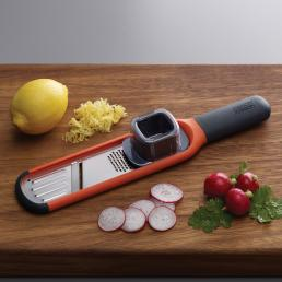 HANDI-GRATE 2-IN-1 MINI GRATER & SLICER ORG