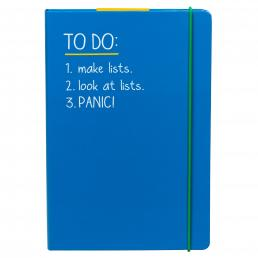 A5 To Do Notebook Blue