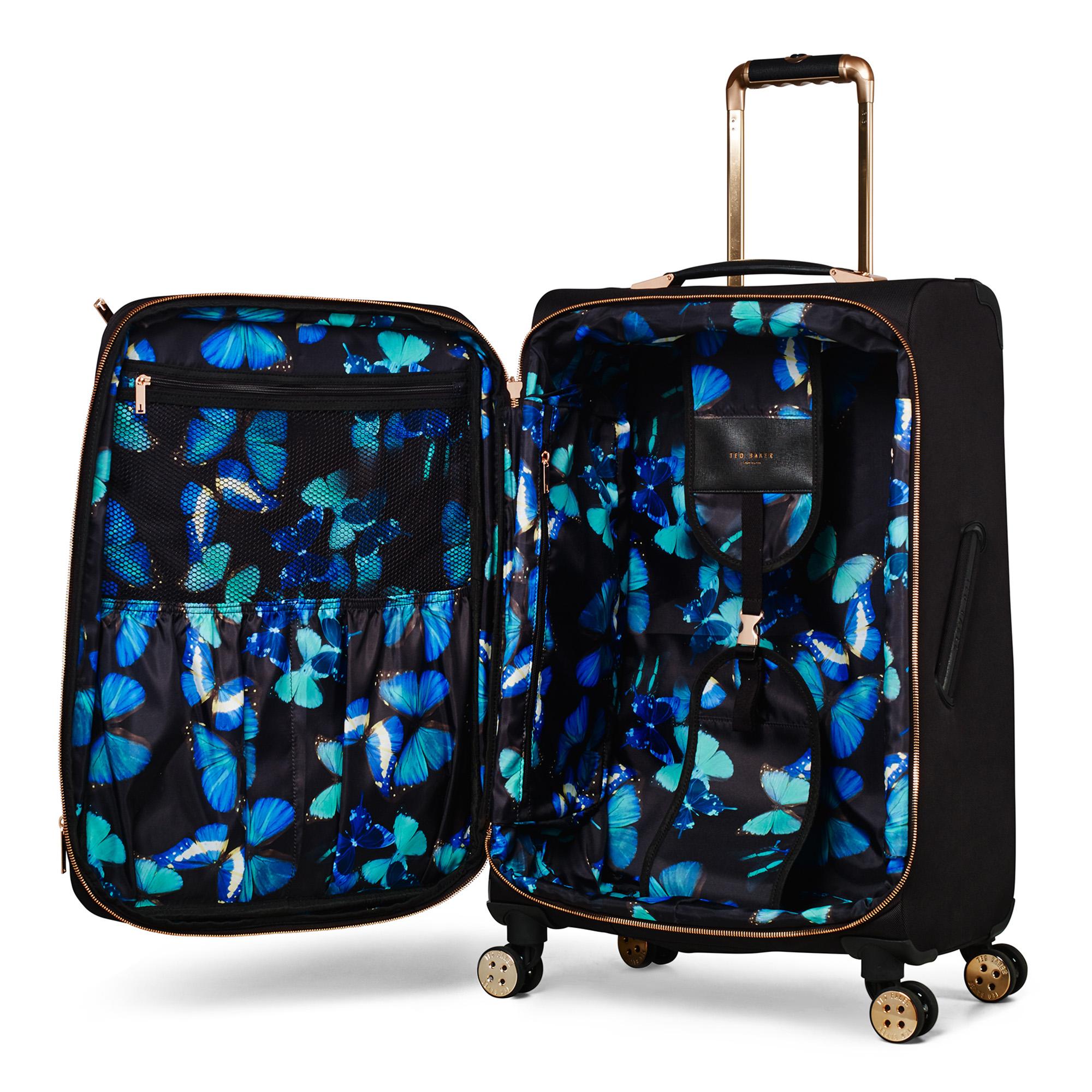 Womens Albany Softside 4 Wheel Medium Suitcase