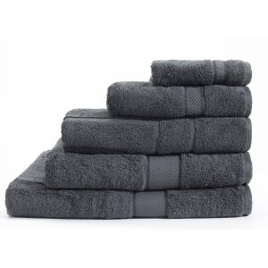 EGYPTIAN LUXURY GRAPHITE HAND TOWEL