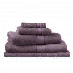 EGYPTIAN LUXURY HAND TOWEL AUBERGINE