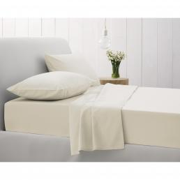 500TC TAILORED PAIR PILLOWCASES CHALK