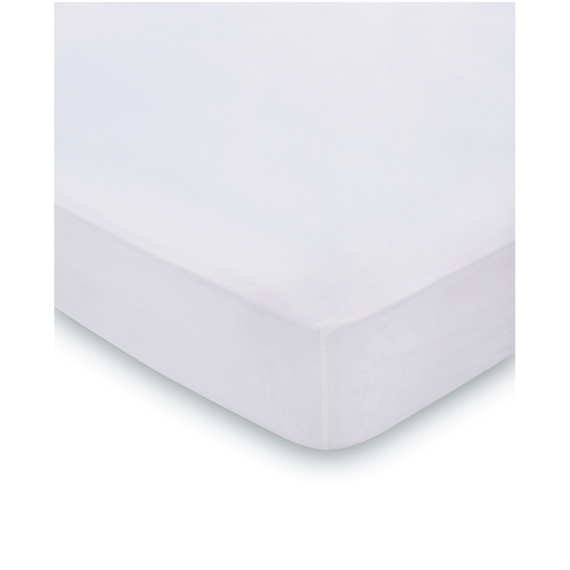 300TC FITTED SHEET PLATINUM