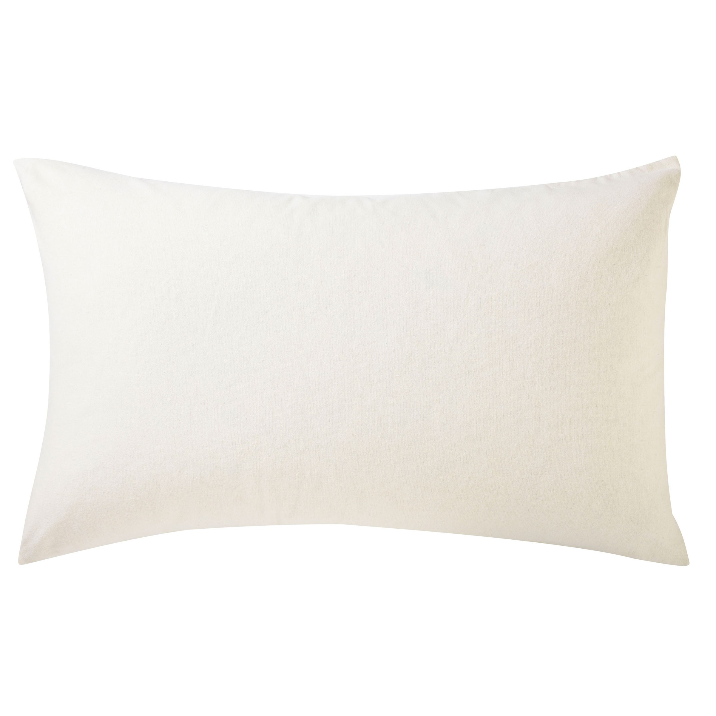 BRUSHED COTTON HOUSEWIFE PC PAIR IVORY