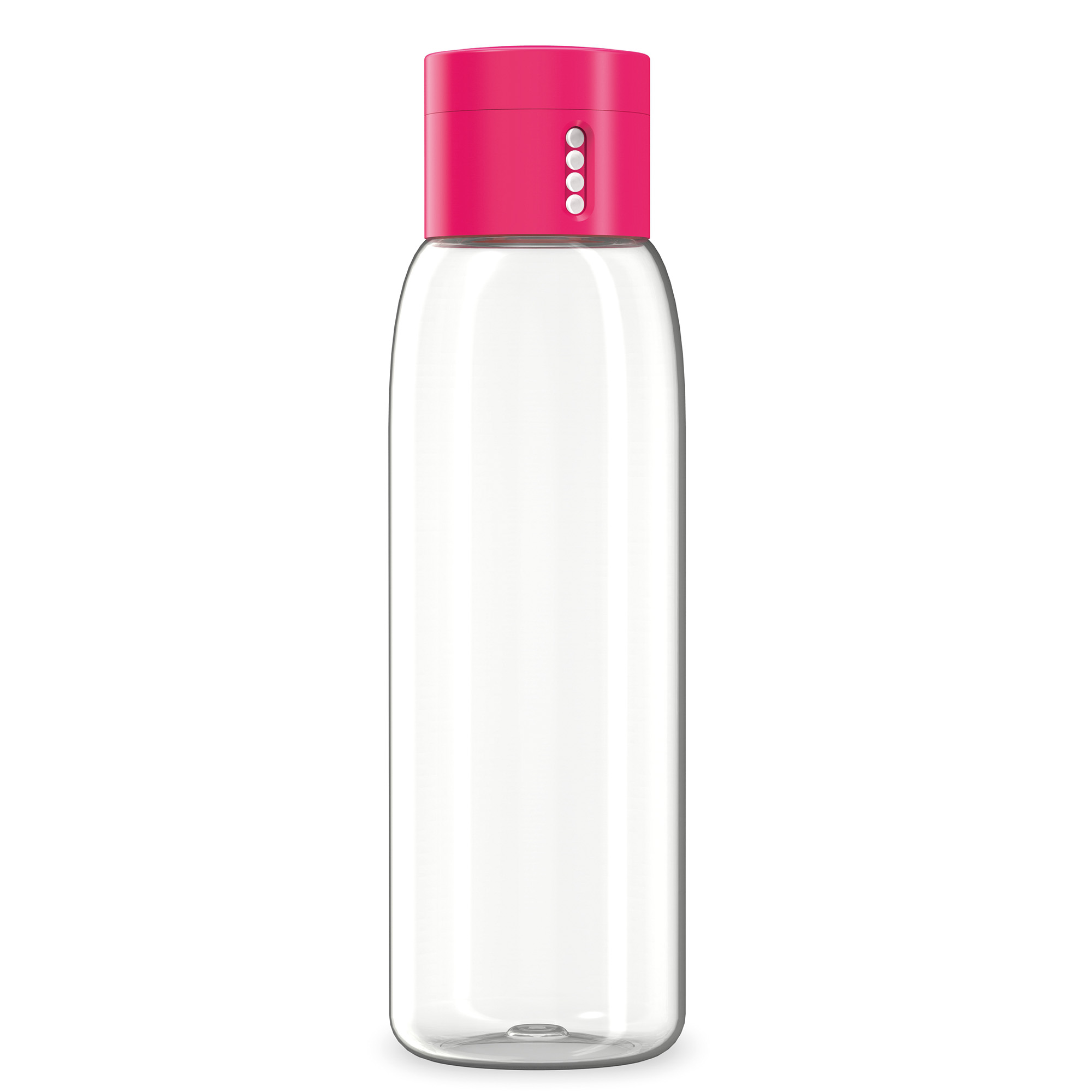 DOT HYDRATION TRACKING WATER BOTTLE 600ML PINK