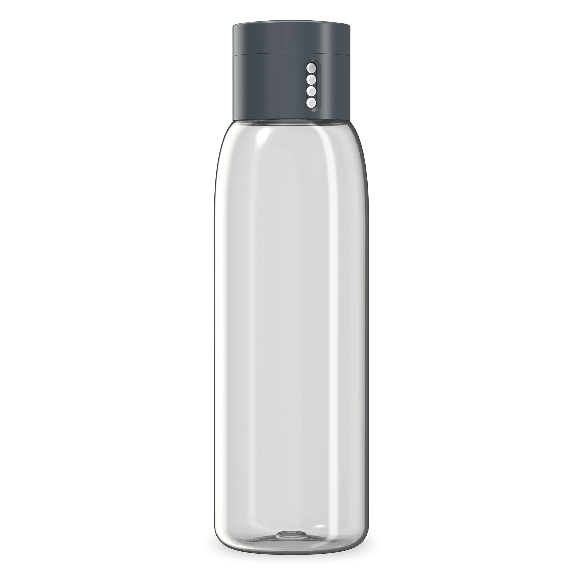 DOT HYDRATION TRACKING WATER BOTTLE 600ML GREY