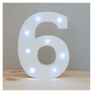 Up In Lights Number 6