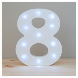 Up In Lights Number 8