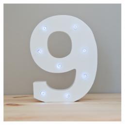 Up In Lights Number 9